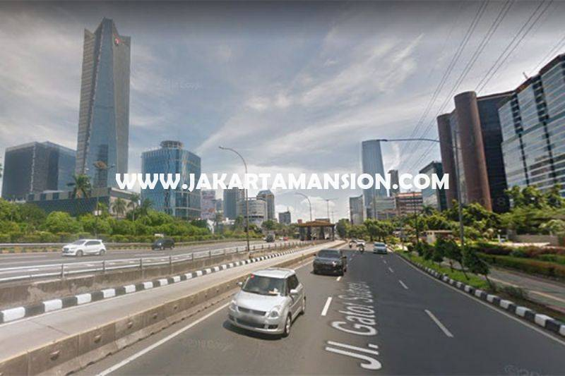 LS1495 Tanah Komersial Jalan Gatot Subroto dekat HR Rasuna Said Kuningan Dijual Murah Harga NJOP bisa 20 Lantai