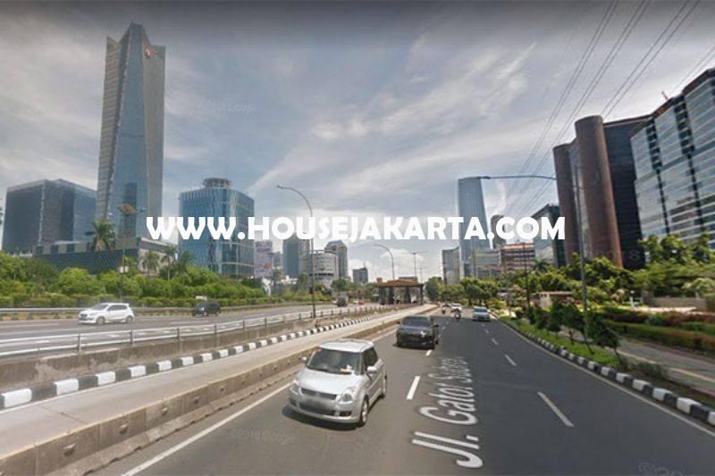 LS1496 Tanah Komersial Jalan Gatot Subroto dekat HR Rasuna Said Kuningan Dijual Murah Harga NJOP bisa 20 Lantai