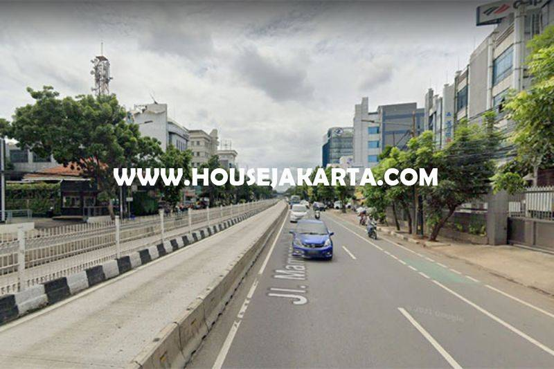LS1504 Tanah Komersial Jalan Mampang Prapatan Raya Dijual Murah Harga NJOP ijin Gedung