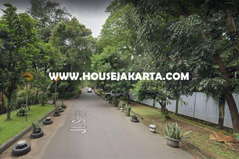 HS1514 Rumah 2 Lantai Jalan Senjaya Senopati Kebayoran Baru Dijual dekat scbd Sudirman