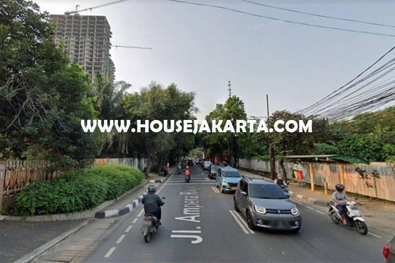 LS1518 Tanah Komersial Jalan Ampera raya Kemang dekat Simatupang Dijual Murah 25 juta/m