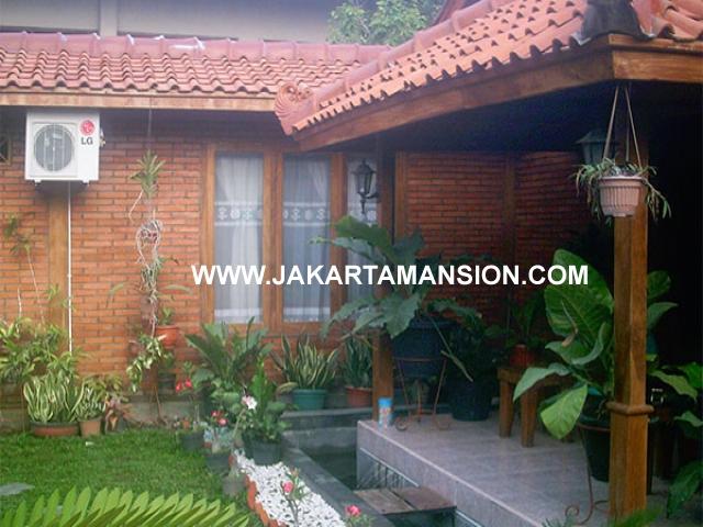 HS538 Rumah Menteng Jalan TANJUNG Dijual Hitung Tanah