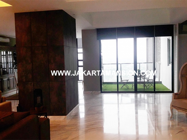 AS608 Apartement for Sale Penthouse Kemang Village Residence dijual fully furnished