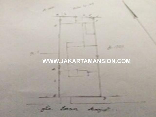 HS634 Dijual murah rumah lama Jalan Imam bonjol Menteng Turun Harga
