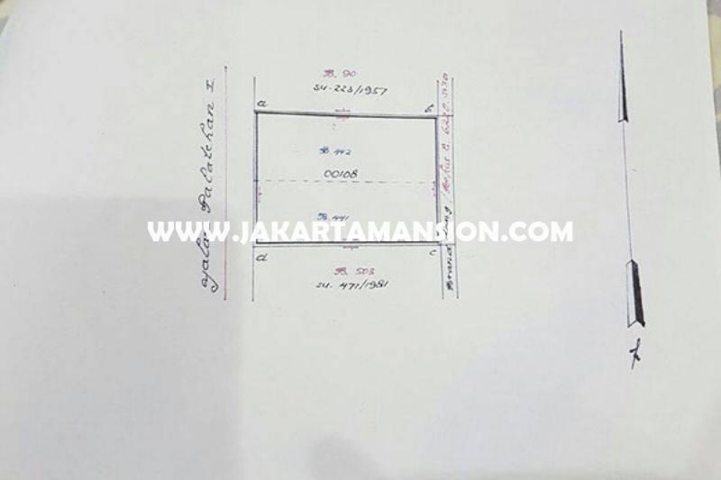 CS756 Tempat Usaha Komersial Jalan Falatehan Blok M Kebayoran baru Dijual Murah hitung tanah