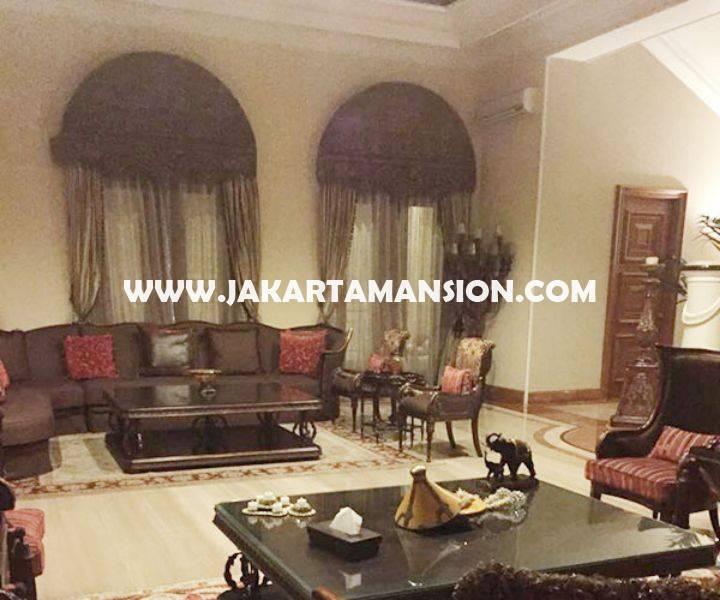 HS790 Rumah LUX Jalan Denpasar Mega Kuningan Dijual Murah Mewah 3 Lantai ada Basement