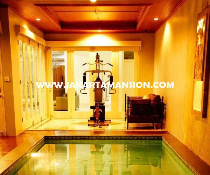 HR812 House for rent sewa lease at Cilandak (South Jakarta)