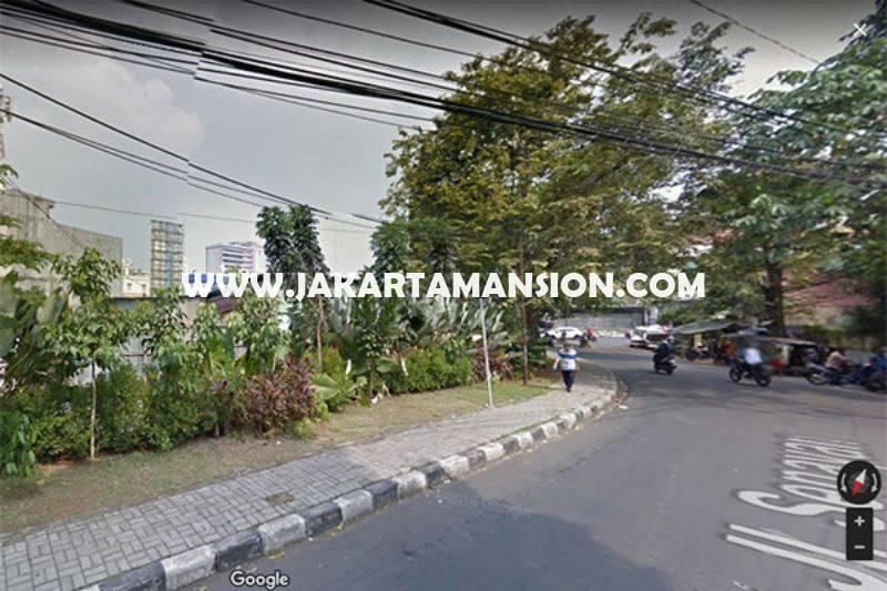 LS843 Tanah Wolter Monginsidi Jalan Senayan Dekat Senopati Kebayoran Baru Dijual bisa 8 Lantai