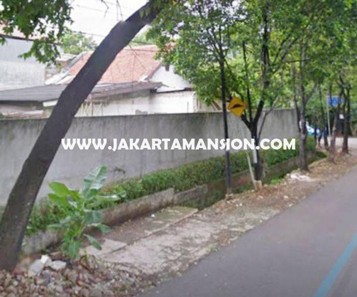 HS846 Rumah tua jalan Hang jebat Kebayoran baru dijual murah hitung tanah