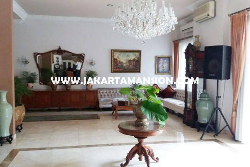 HS861 Rumah siap pakai Jalan Ki Mangun sarkoro Menteng Jakarta Pusat Dijual Murah