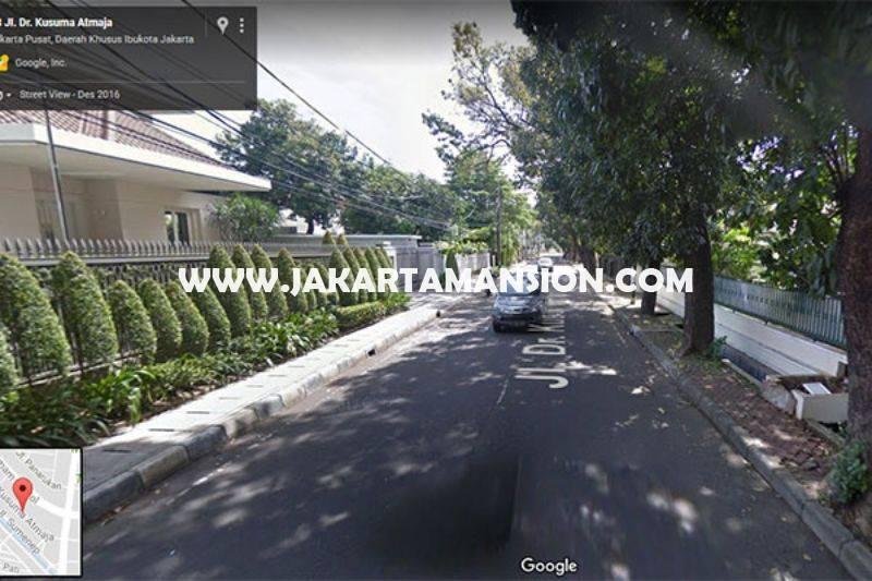 HS886 Rumah Jalan Kusuma atmadja Menteng Dijual Murah hitung tanah kotak Golongan C