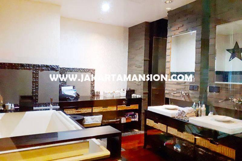 AS896 Apartement The Peak Sudirman luxury furniture Dijual Murah luas 238m City view