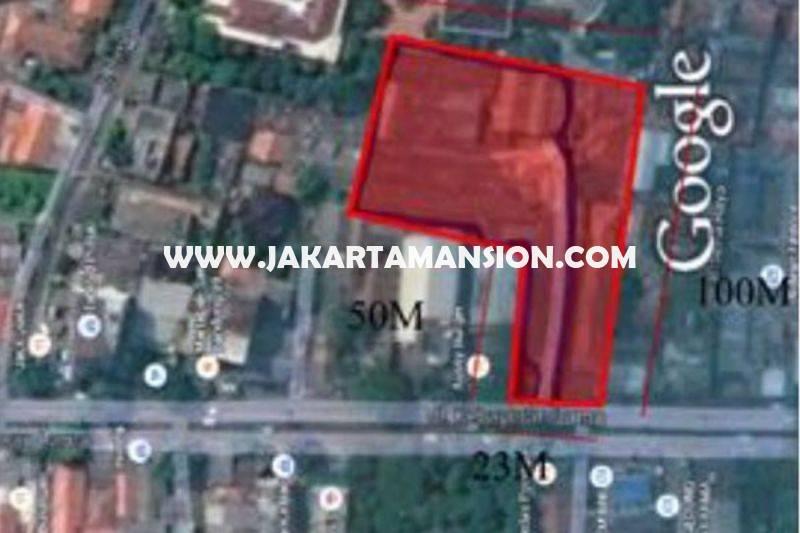 LS937 Tanah Jalan Raya Kebayoran Lama luas 5.150m Dijual Murah 20 Juta/m Jarang Ada