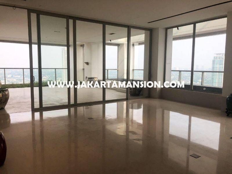 AS958 Penthouse Apartement Dharmawangsa Residence Tower Baru 2 Lantai Dijual Murah