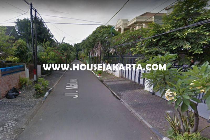 HS963 Rumah Jalan Maluku Menteng Dijual Murah Rp 44M Tanah Kotak