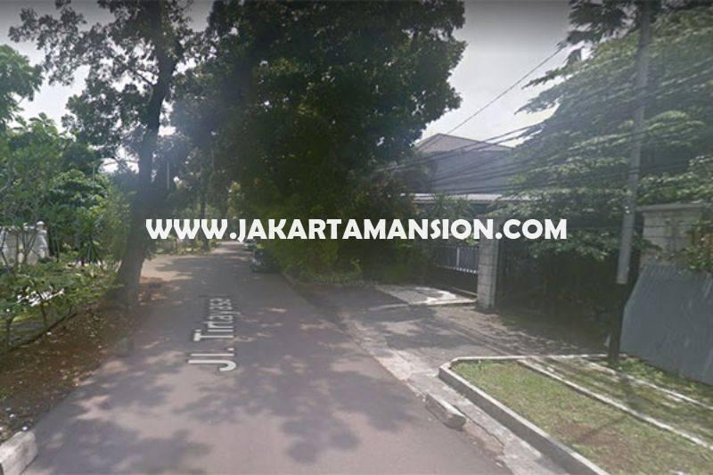 LS980 Tanah Jalan Tirtayasa Senopati Kebayoran Baru dekat SCBD Sudirman Dijual Murah 68 juta/m
