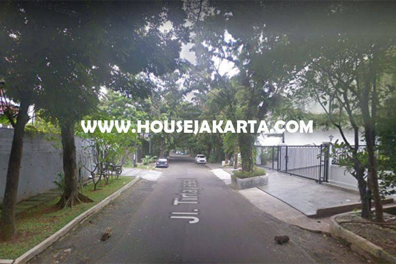 LS981 Tanah Jalan Tirtayasa Senopati Kebayoran Baru dekat SCBD Sudirman Dijual Murah 68 juta/m